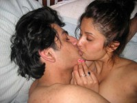 Nepali lead singer Anju Panta kissing with an unknown male in an unidenfied location on unidentified date on a bed. Hot kissl anju panta facebook, anju panta masta kiss gardai