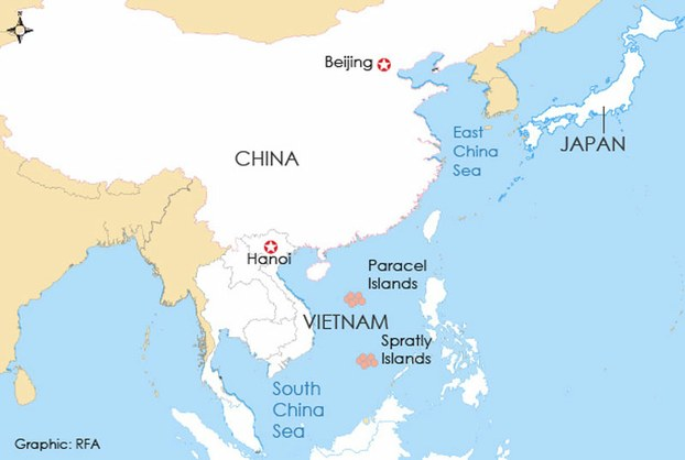 china and its neighbors map China S Aircraft Landings In The South China Sea Worry Its china and its neighbors map