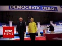 Hillary Clinton and Bernie Sanders clash over Obama – BBC News