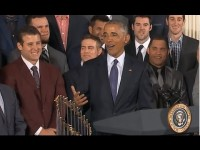 Obama Welcomes Chicago Cubs to the White House