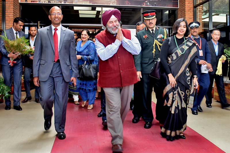 Ambassador-of-India-to-Nepal-Manjeev-Singh-Puri-in-TIA - Integration