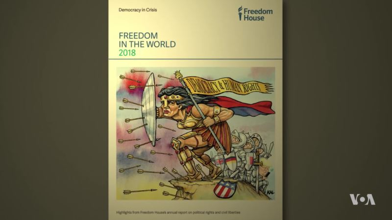 Freedom House: Democracy Scores for Most Countries Weaken