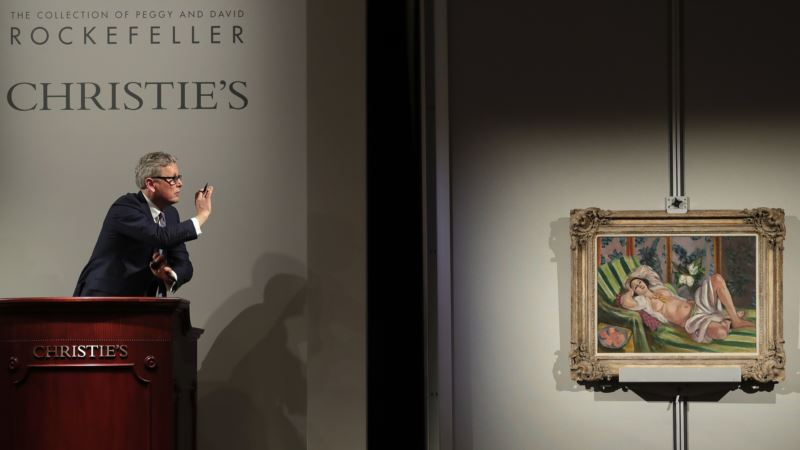 Rockefeller Treasures Set Record At Auction Integration Through