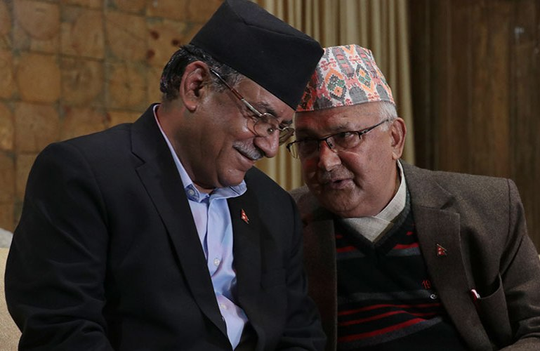KP-Oli-Prachanda – Nepal24Hours.com – Integration Through Media ….!