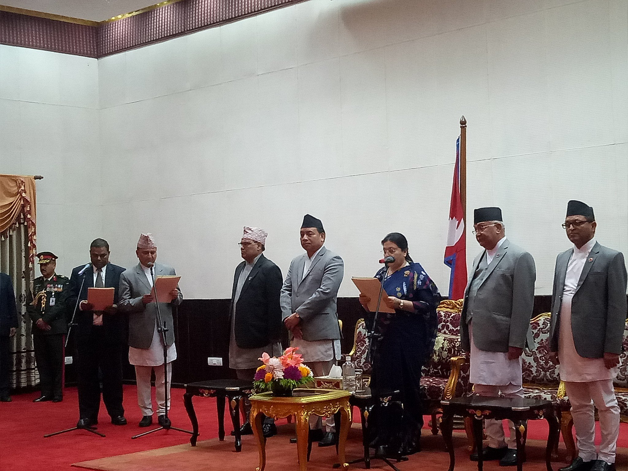 Forum formally joins government, President appoints two