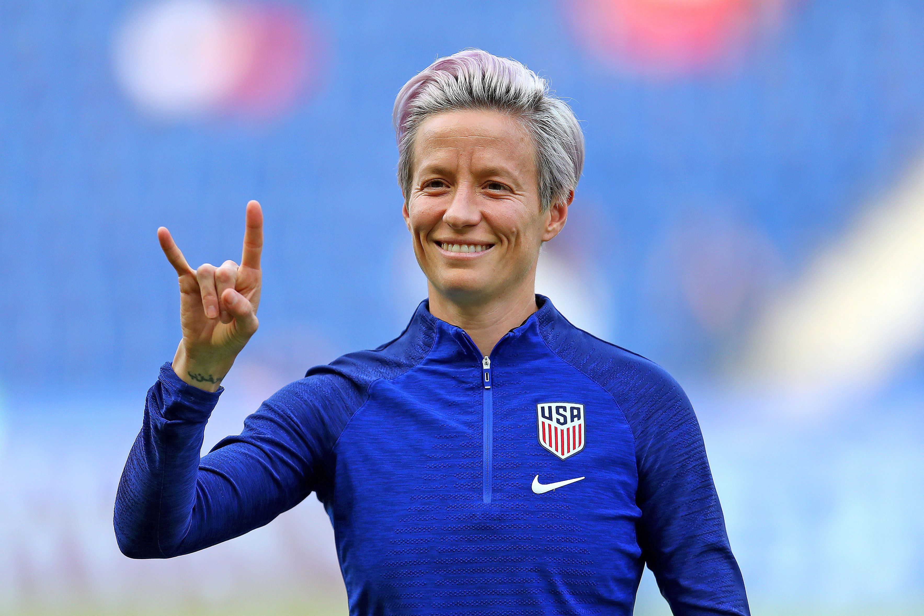 After Twitter Attack by President Trump, Soccer Star Megan