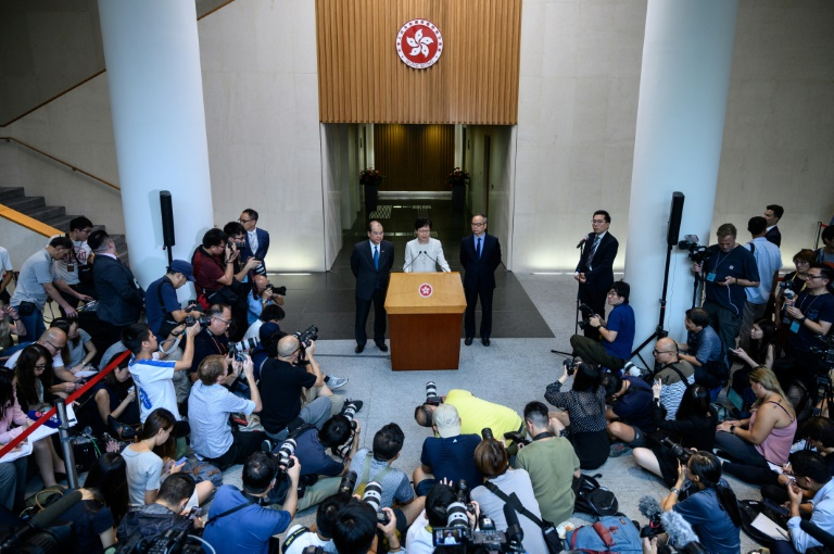Hong Kong Leader Formally Withdraws Controversial Bill