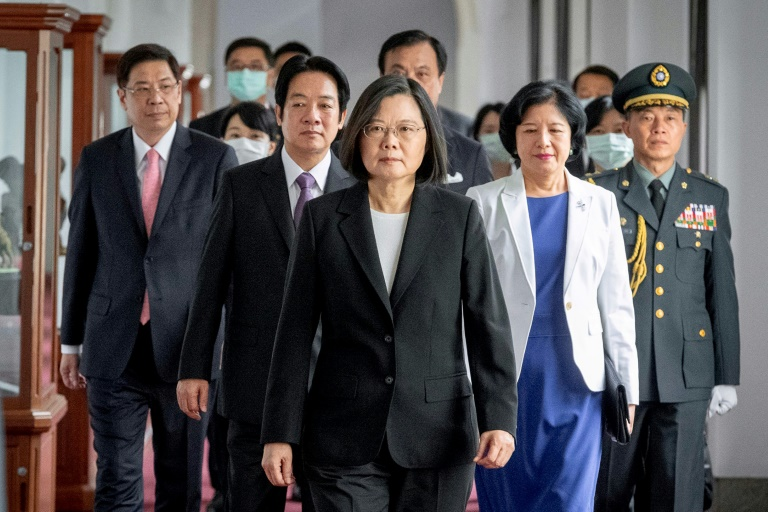 Taiwan president hits back at China amid Covid-19 success