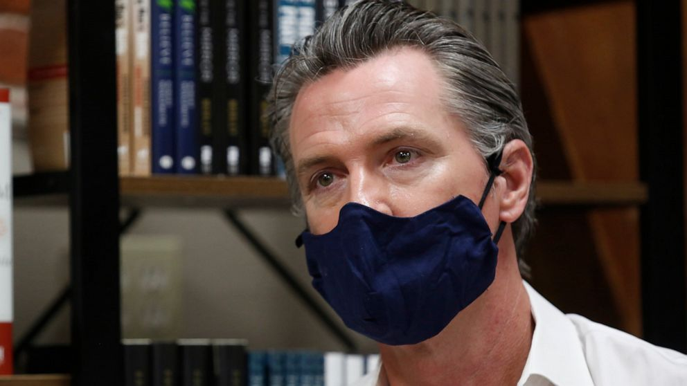 Californians ordered to wear face masks in public
